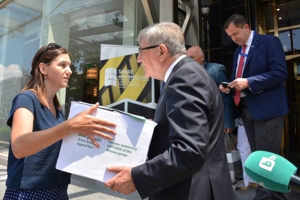 Мисията на Бернската конвенция ще се срещне с местни хора за строежа на АМ Струма