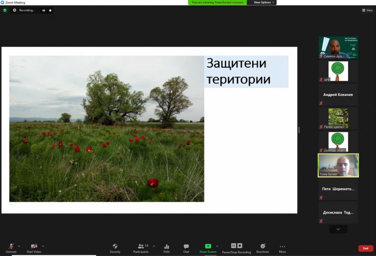 Read more about the article Запис от онлайн обучение за защита на вековни дървета и защитени територии